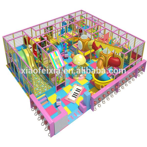 que disear y producir la mejor calidad de interior patio de juegos de juguetes para nios