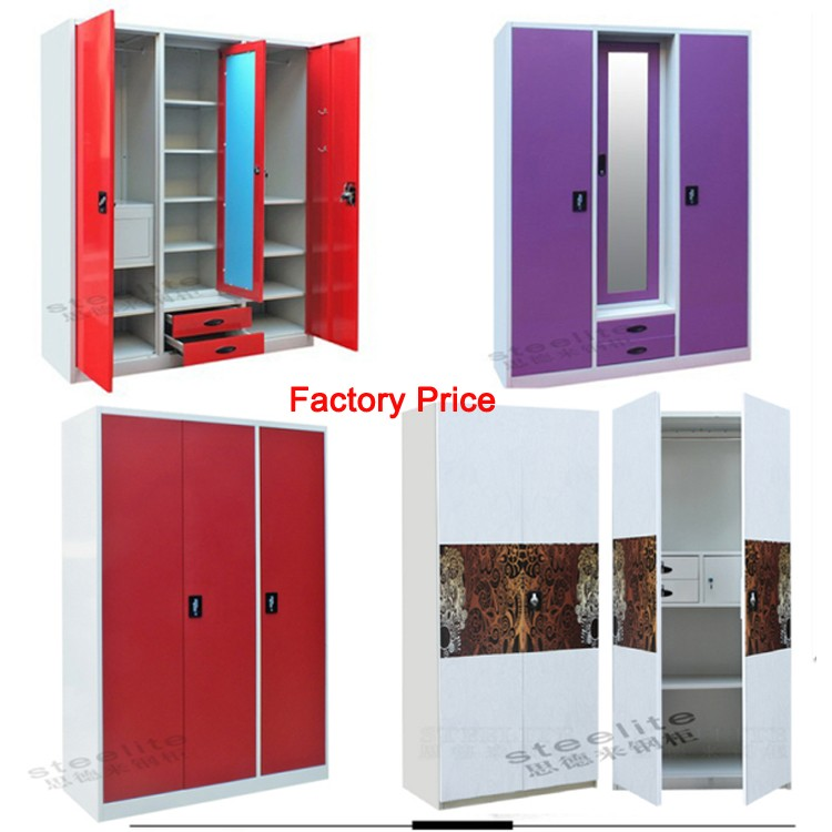 Stainless Steel Wardrobe Design For Clothes Almirah Designs Living Room Bedroom Cupboard Style