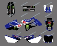 DST0046 New Style TEAM GRAPHICS & BACKGROUNDS DECALS STICKERS Kits for YAMAHA YZ85 2002-2012