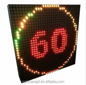 Road Speed Limit LED Display Sign Highway for VMS Display