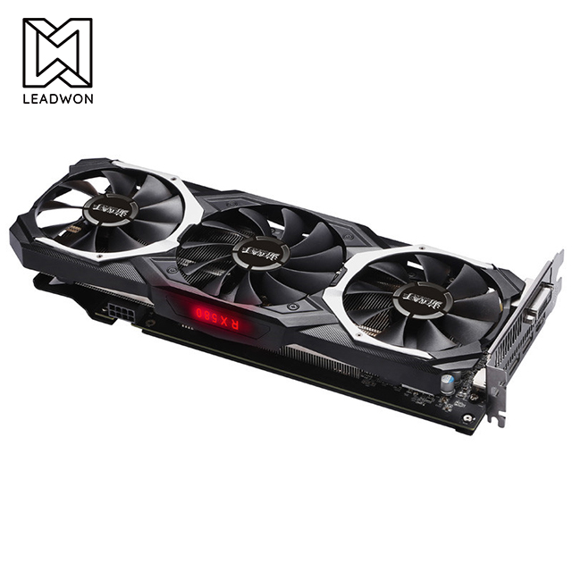 Graphics Card LTC Mining Yeston RX580 8GB GDDR5 256 Bit PCI <strong>Express</strong> x16 3.0 Gaming Graphics Card
