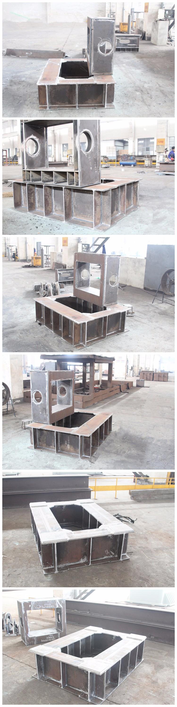 Moderno Fabricación Del Marco De Acero Componente - Ideas ...
