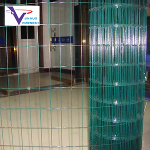Bright color coating 6 gauge pvc coated welded wire mesh