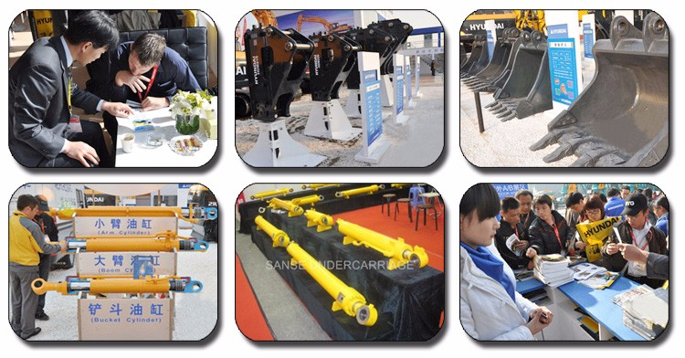 High quality SH265 Excavator Support Arm / Bucket link / H link