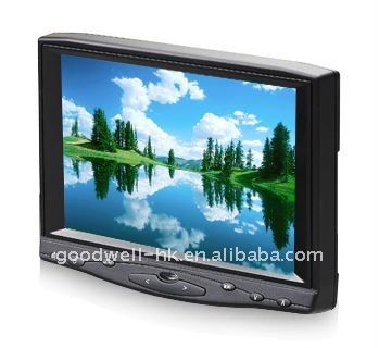 "HDMI Input Touch 16:9 7"" LCD HD Monitor on camera support 1080P"