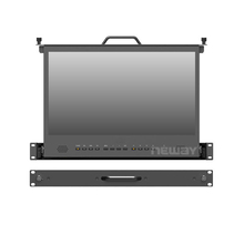 "NUOVO 17.3 ""1Ru Pull-out Rack Mount <span class=keywords><strong>HD</strong></span>-MI 3G <span class=keywords><strong>SDI</strong></span> 1920x1080 4 K Full <span class=keywords><strong>HD</strong></span> broadcast <span class=keywords><strong>Monitor</strong></span>"