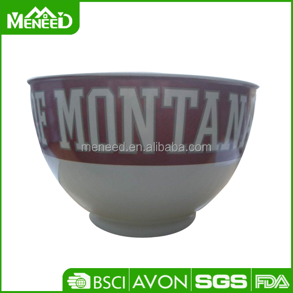 Budget quality OEM logo insulated melamine 8 inch noodle bowl on sales