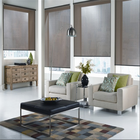 eletic quiet design roller blinds villa used window shades