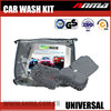 Universal portable car wash tool kits Cleaning cloth/microfiber sponge/wash mitt
