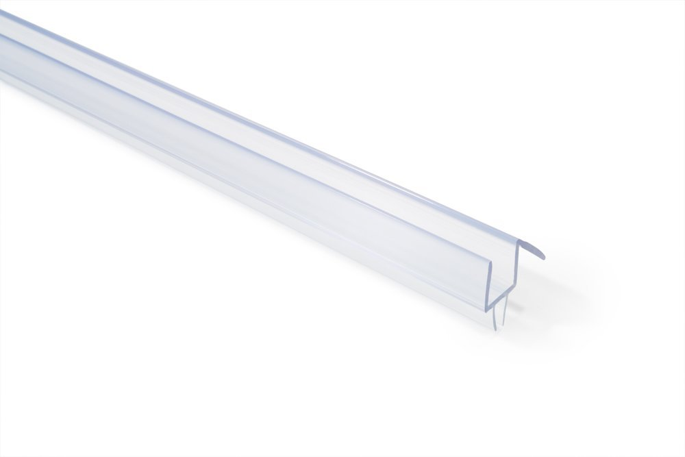 Buy Clear Shower Door Sweep Seal With Drip Rail For 316 Glass 36