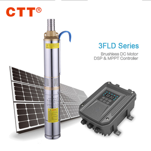1hp price high pressure solar water pump for car wash agriculture 50m solar deep well water pump