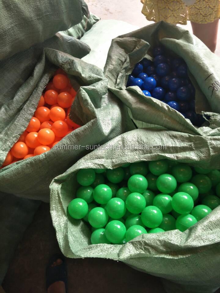 pas cher chine jouets 8 cm en plastique pas cher boules pour piscine balles - Balle Pour Piscine A Balle Pas Cher