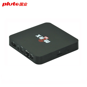 Custom android tv box with your logo on package booting tv box case