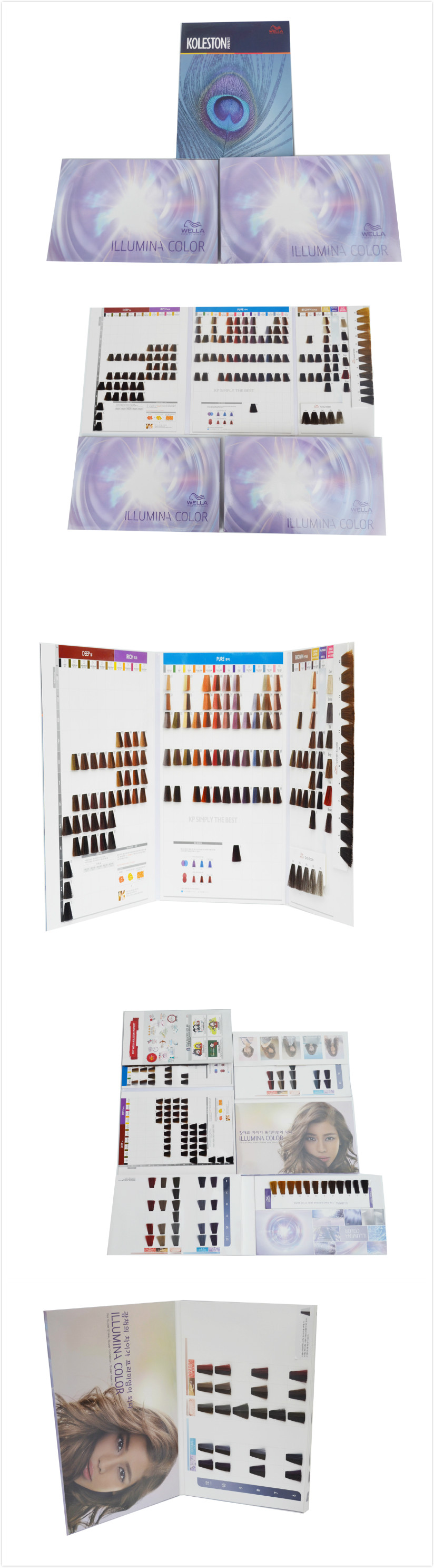 Manufacturer Hair Dye Color Chart Private Label Hair Color Chart – Sample Hair Color Chart