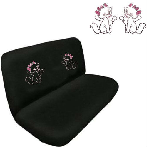 Rhinestone Bling Car Truck SUV Rear Bench Seat Cover
