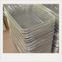 304 stainless steel wire mesh metal storage baskets