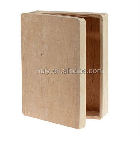 Unfinished Wood Keepsake Box With Wood Frame Lid 7 X 55 X 1 Inch