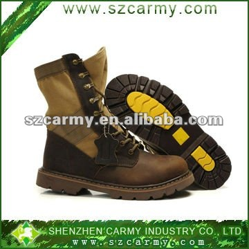 waterproof suede leather military boots, tactical boots, army jungle boots