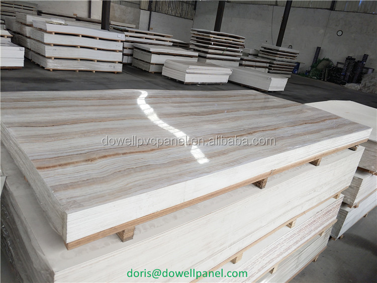 Competitive Price Plastic Sheet Marble Pvc Wall Uv Panel