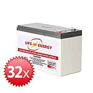 APC SYBT4 Replacement Battery Kit - UPS Energy - (APC SYBT4 Compatible)
