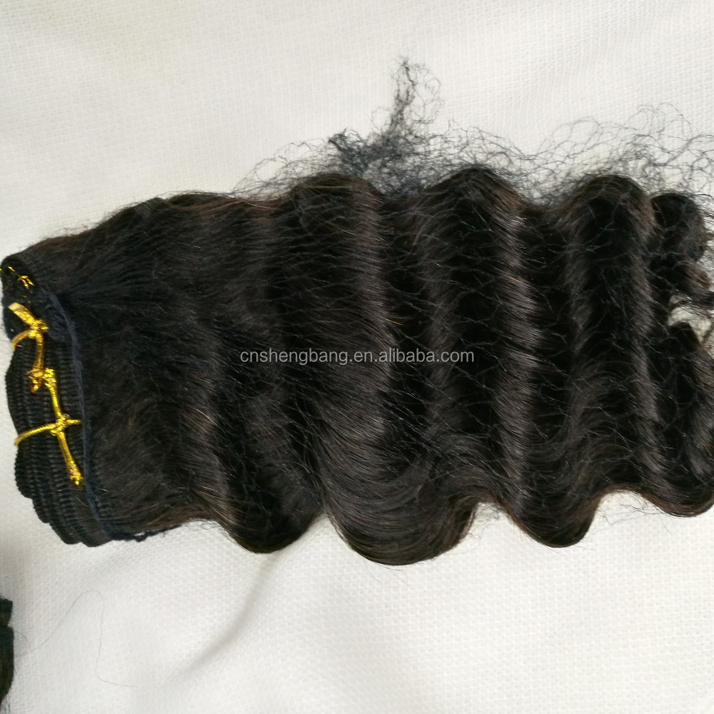 deep wave brazilian hair weave,natural hair ,12inch-20inch 100gr