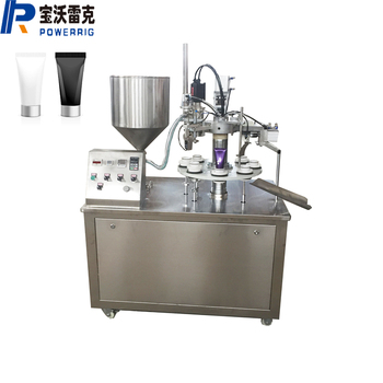 Efficient toothpaste tube sealing sealer machine