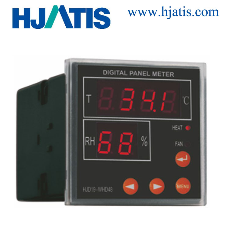 HJD-WHD-48-11 <strong>temperature</strong> and humidity controller with communication with sensor we are China factory