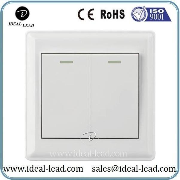 2 switch 2 control wall power switch socket