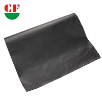China Customized Black Self Adhesive PU Leather For Shoes