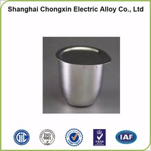 Top grade wholesale platinum crucible for melting gold