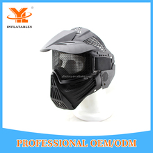 OEM And ODM Paintball Game Face Mask,Protection Full Face Mask In Archery Shooting Game