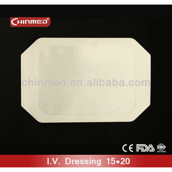 Paper Frame Transparent tegaderm film dressing