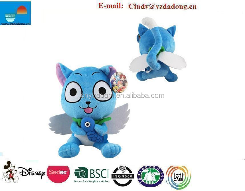 30cm Plush Fairy Tail Happy Soft Plush Toy Doll Gift