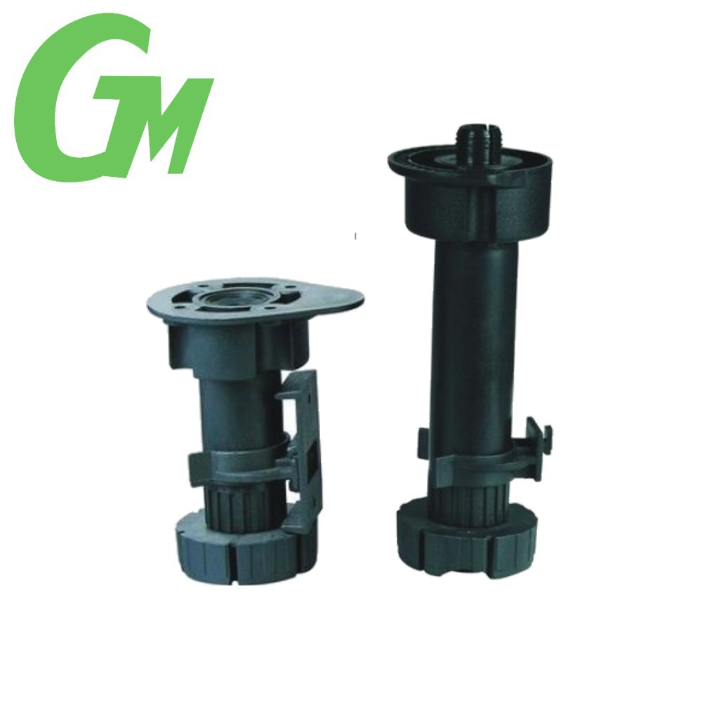 plastic kitchen cabinets adjustable legs adjustable leveling feet, View  adjustable base levelers, GM Product Details from Foshan Shunde Goldmine ...