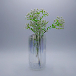 luxury wedding flower crystal beads vase with high quality