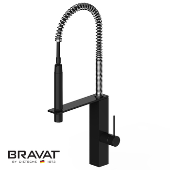 Black Single Handle Kitchen Sink Faucet Brass Body Contemporary Design Stretching Pull Out F781125k Buy Sink Faucet Upc Sink Faucet Gooseneck Sink