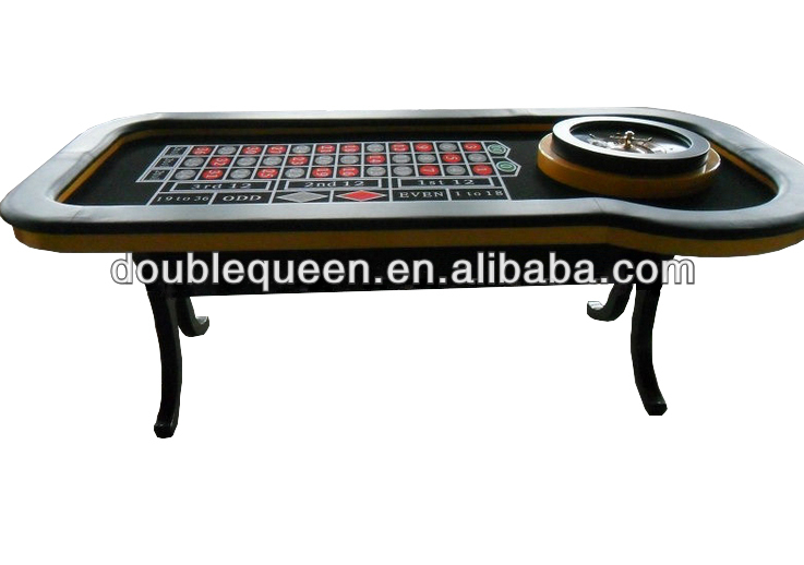 Luxury Roulette Table with Roulette Wheel