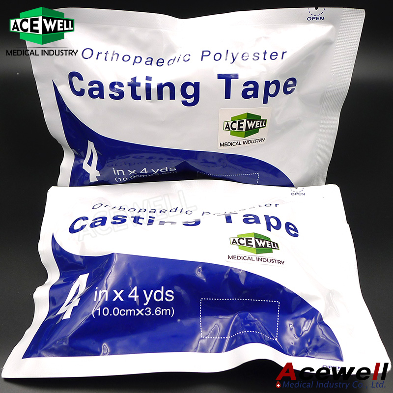 High Quality Medical Polyester Fiberglass Orthopedic Casting Tape