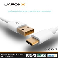 Factory Supply Data Type C Connector Ultra Thin Usb Cable