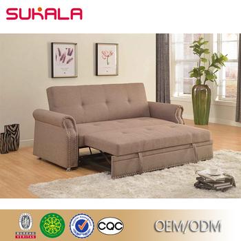Custom Brown Living Room Storage Box Multi-purpose Italian Sofa Bed ...
