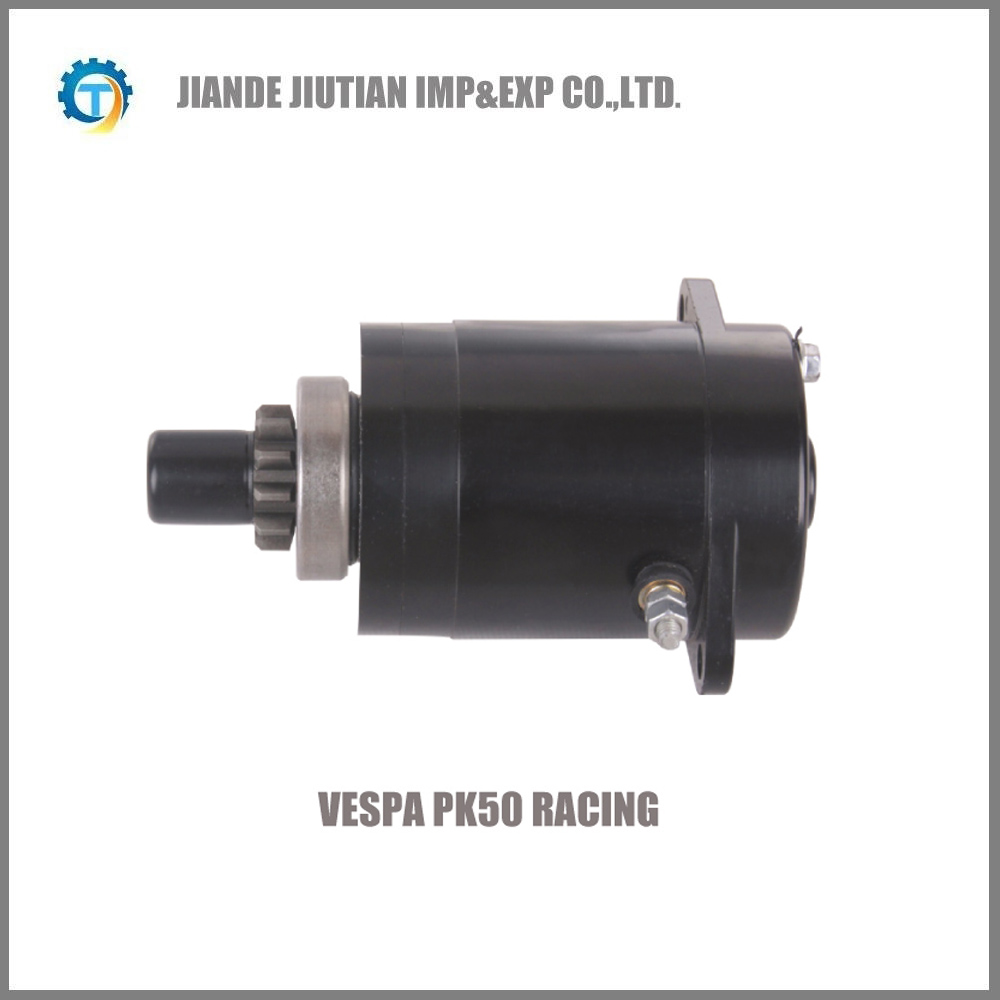 VESPA PK50 RACING in CCW motorcycle starter motor for Europe Market