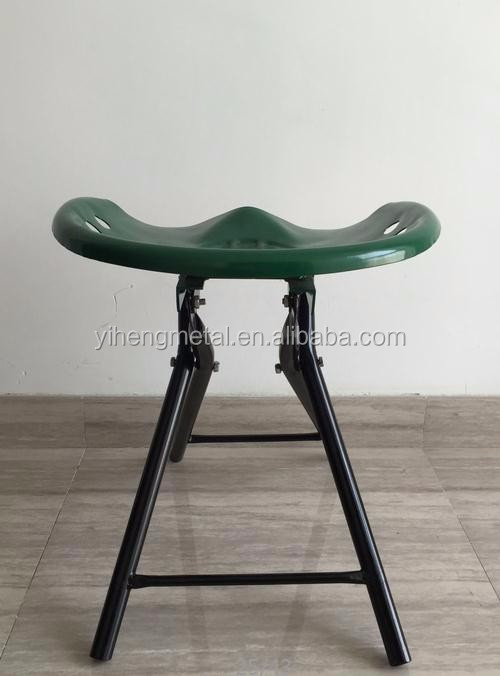 High quality auto car repair foldable metal seat