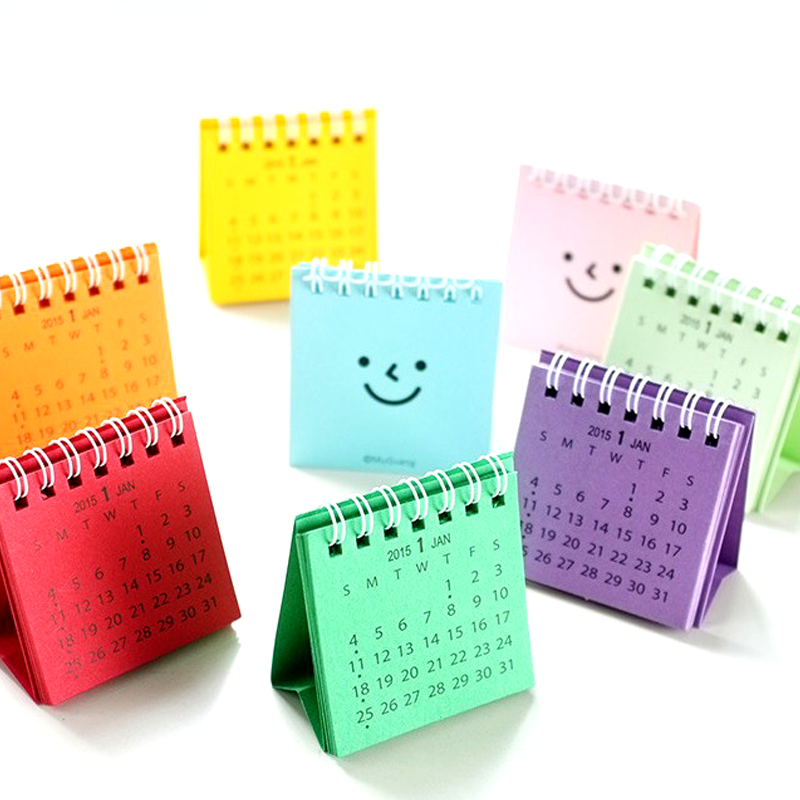 Kawaii Cartoon Animal Calendar Desk Standing Paper Calendar Multifunction Schedule Planner Notebook Sale Overall Discount 50-70% Office & School Supplies