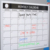 Custom Dry Erase Monthly Magnetic and Wall Calendar Printing