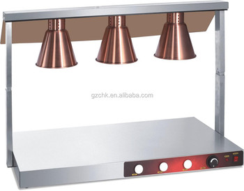 Stainless Steel Food Warmer With Heat Lamp/food Heat Lamp For Sale ...
