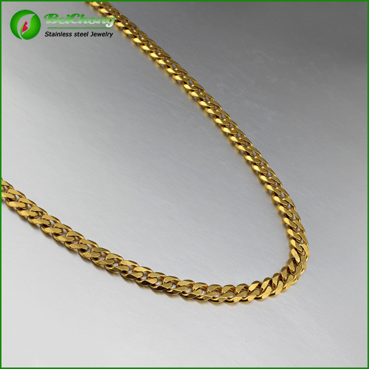 Stainless steel dubai new gold chain design for jewelry making ...