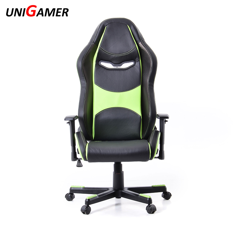 Muilti-functional lurury manager leather racing style gaming office chair