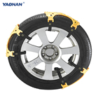 YAONAN Manufacturer Plastic Anti-skid Protection Snow Tire Chains For Car