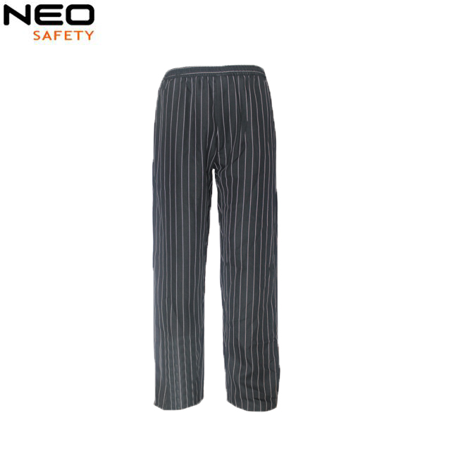 Stripe Comfortable Personal protective Chef Pants