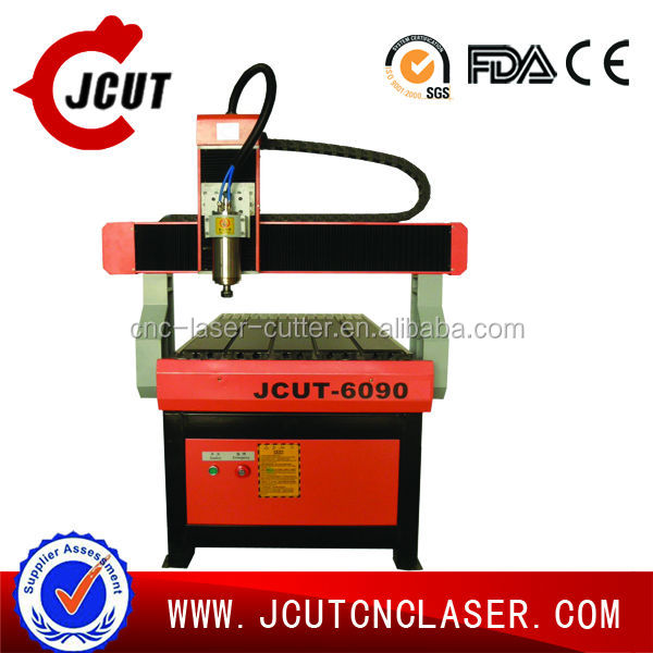 High quality and good price JCUT-6090 pcb cnc router machine for pcb, acrylic and wooden MDF